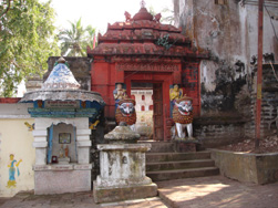 A Temple on the bank of Indradyumna Tank