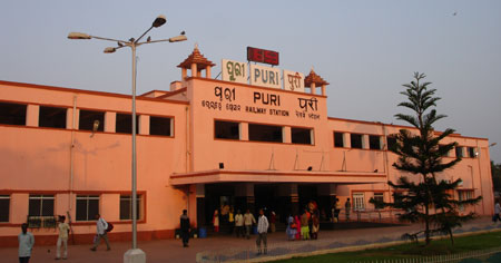 Railway Station of Puri