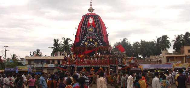 Chariot of Goddess Subhadra