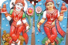 Ganga & Jamuna - Gate Keepers of Goddess Subhadra's Chariot