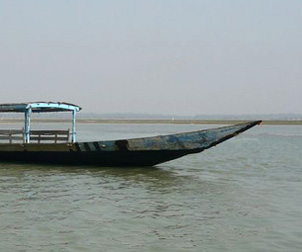 Boat at Chilika