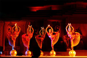 Dancers performing at Konark Dance Festival