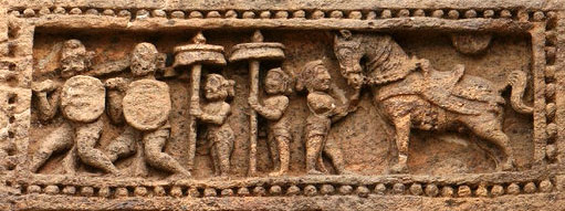 Wonderful Carving at Konark Temple